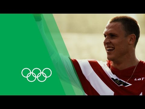Māris Štrombergs on becoming the first BMX Olympic champion