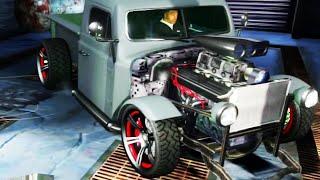GTA V - Pimp My Ride | Bravado Rat-Truck Muscle  Car Tuning Customization (GTA V)