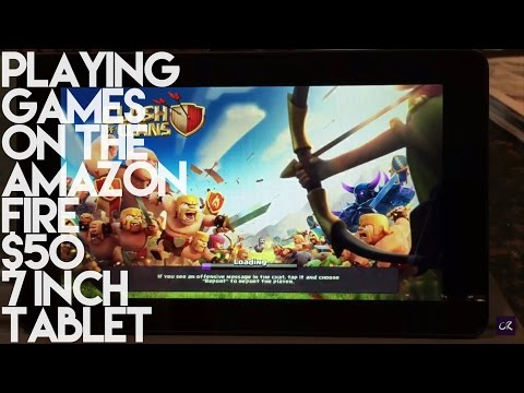 Playing Games on the Amazon Fire $50 7 Inch Tablet