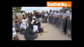 Uludağ Üniversitesi'nde Bülent Arınç'a Gezi Protestosu