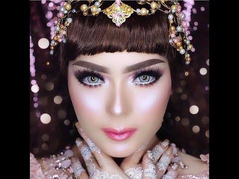 aplikasi-lipstik-ombre-(barbie-look)-||-mua-vizzily