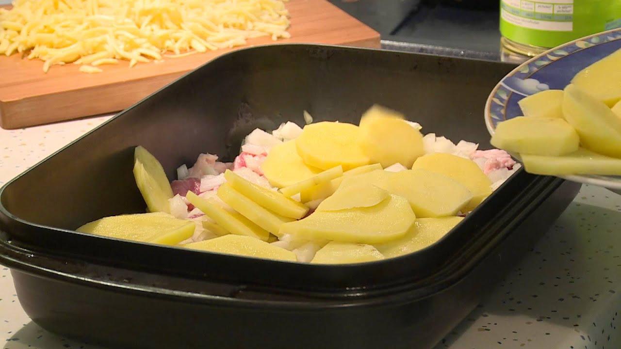 ✰ Kartoffelauflauf ✰ Kartoffel überbacken. Leichtes Rezept ...
