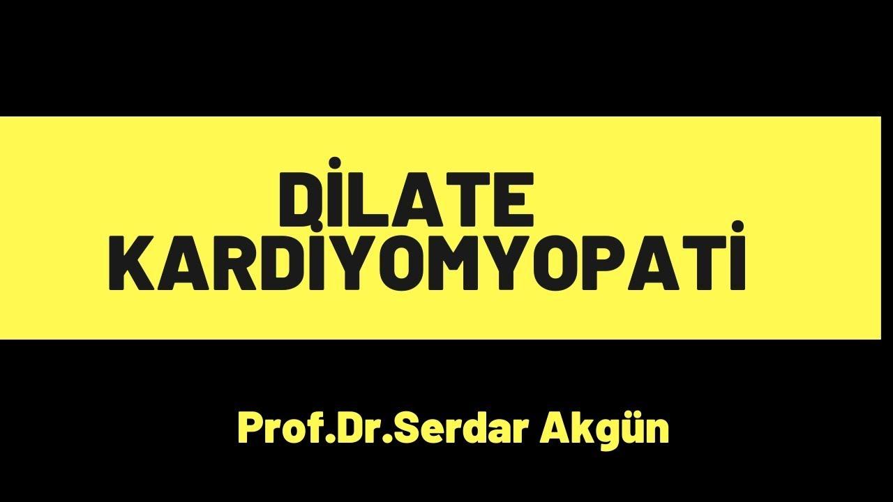 Patoloji, Kardiyomyopatiler, Dilate KM