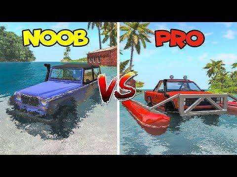 NOOB vs PRO #1 (comparison challenge) - Beamng drive | SpeedRoll
