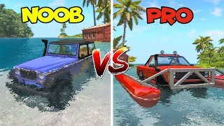 NOOB vs PRO #1 (comparison challenge) - Beamng drive | SpeedRoll