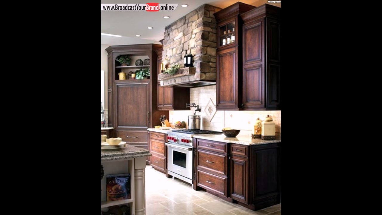 holz k chentheke landhausstil k che youtube. Black Bedroom Furniture Sets. Home Design Ideas