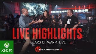 Gears of War 4 – Live Highlight Video