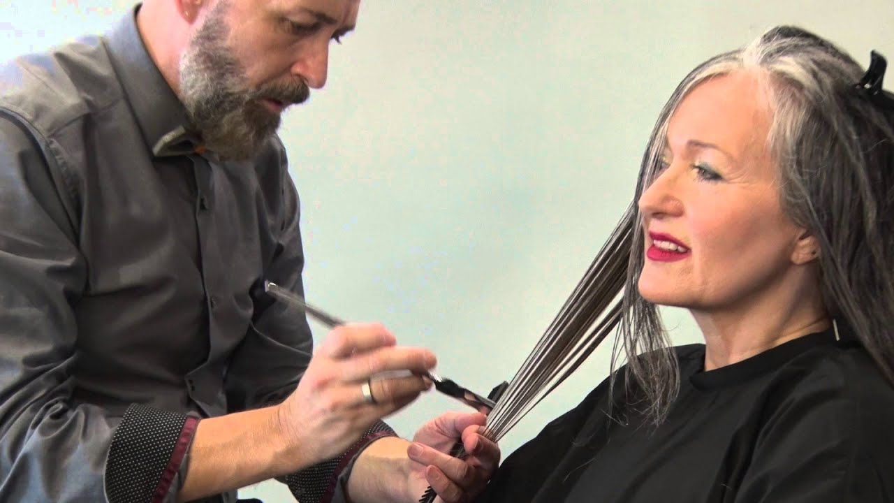 Calligraphy Cut Volt Coiffure Youtube
