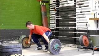 Trainingssession Gewichtheben