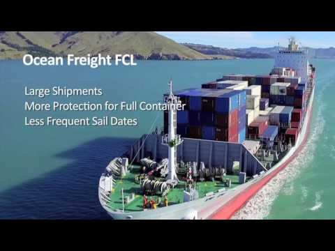 What are the differences between airfreight and ocean freight?