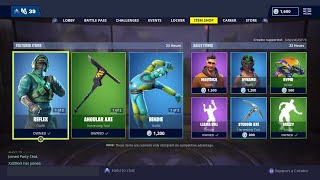 "'NEW'FORTNITE SKIN ""INSTINCT"" GAMEPLAY - Code ""junjun"" dans la boutique d'articles"
