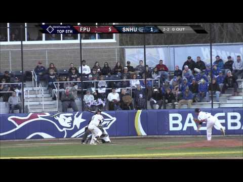 Highlights: @SNHU_Baseball vs. Franklin Pierce