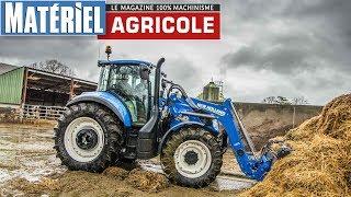 Test drive du New Holland T5.110 by Matériel Agricole
