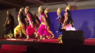 Rotary Club of Cochin Uptown prize winning performance in Group dance in Spandanam 2016
