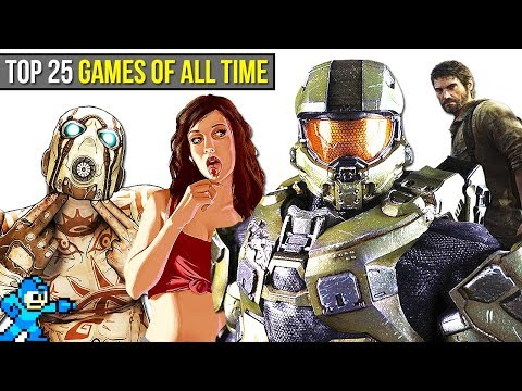 Top 25 BEST Video Games of ALL TIME