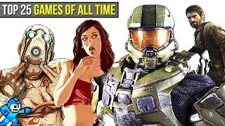 Top 25 BEST Games of ALL TIME Chaos