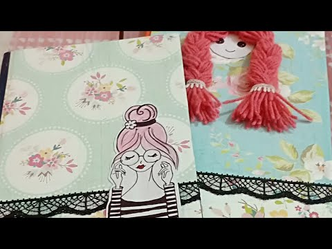 DIY -Diary decoration/ Diary-A Best Gift For Friend.