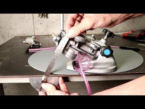 Keihin CVK Carburetor Clean and Rebuild - Kawasaki KLR 250 - YouTube