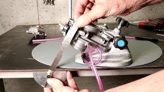 Carburetor Float Height  Measurement & Adjustment- Keihin PWK 38 Air Striker Short with STIC