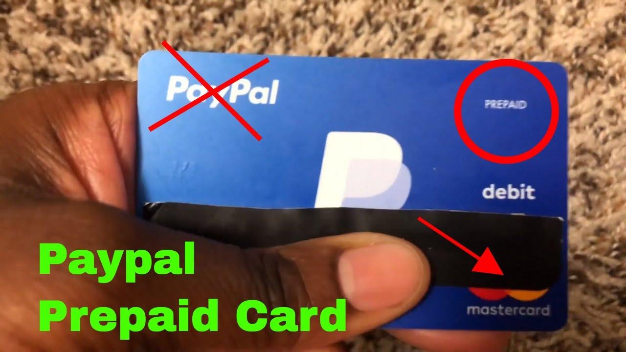 ✅ Paypal Prepaid Debit Card Mastercard Review 🔴