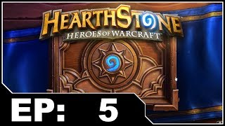 Hearthstone EP5 - Opening Card Packs And Making My First Deck