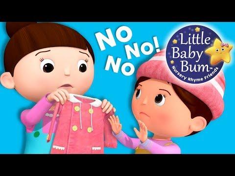 No No No! New Clothes   Nursery Rhymes and Kids   Original Song By LittleBabyBum