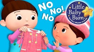 No No No! New Clothes | Nursery Rhymes and Kids | Original Song By LittleBabyBum