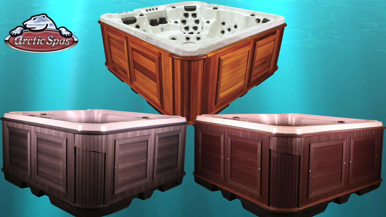 Composite Hot Tub Cabinet Vs Cedar Hot Tub Cabinet | Arctic Spas Utah