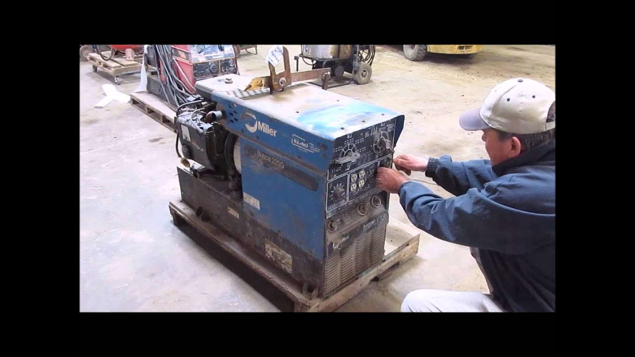 Miller Bobcat 225g Ac Dc Welder Generator For Sale Sold
