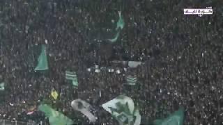 ملخص مباراة الرجاء البيضاوي و شبيبة القبائل الجزائري  2-0 RCA VS JSK مباراة مجنونة