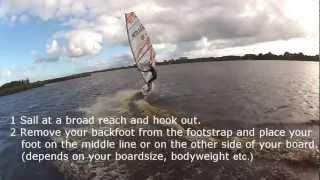 Windsurfing Power Jibe Lesson