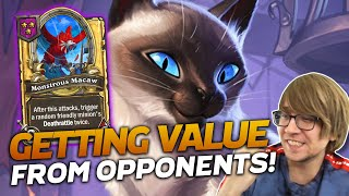 Getting Value from Our Opponents! ft. Brian Kibler | Hearthstone Battlegrounds | Savjz