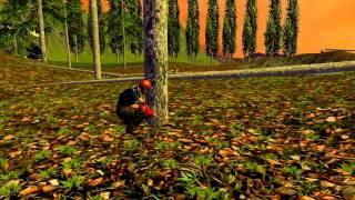 Farming Simulator 2015 - Zawód Drwal , czyli leśne pracę // Rodzinka z fs'a ;)