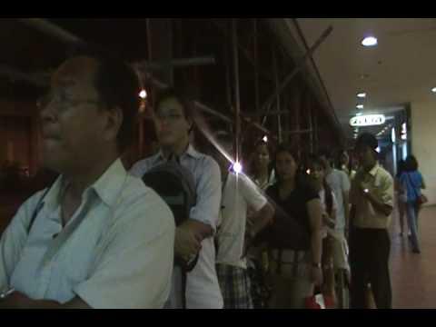 Araneta Center-Free Electric Car Ride, Quezon City,Philippines