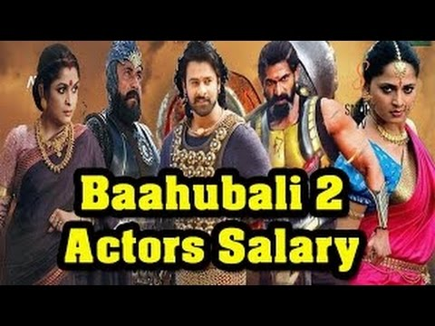 Bahubali 2 Staff & Actors Salaries || Unbelievable Expectation