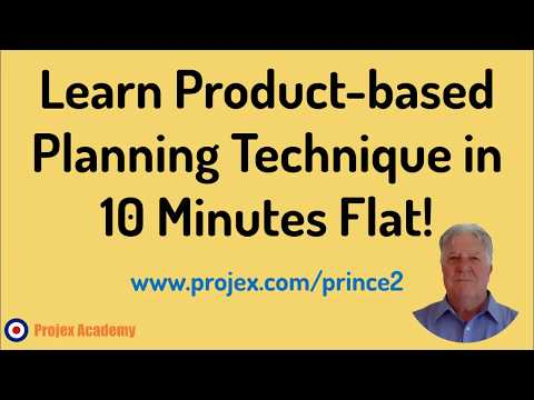 Learn Product-based Planning Technique In 10 Minutes Flat!