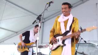 Bombino - Kammou Taliat (You, My Beloved) - live at Newport Folk Festival July 2013