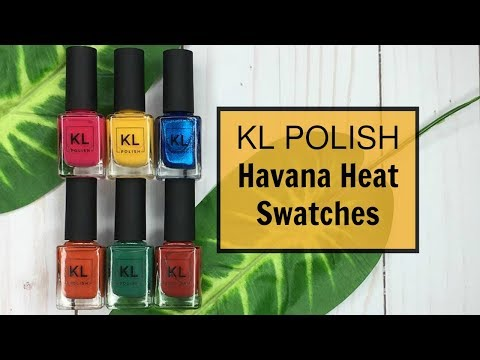 KL Polish Havana Heat Swatches & Review