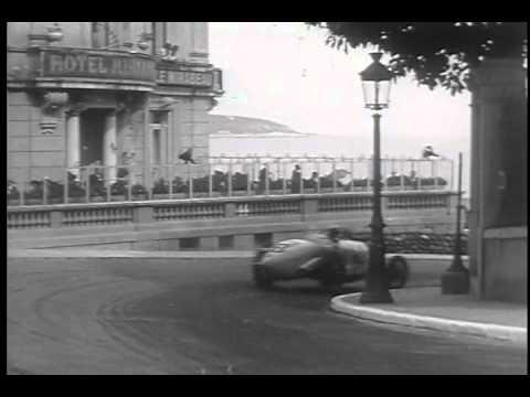 Nuvolari Wins Monte Carlo Grand Prix 1932