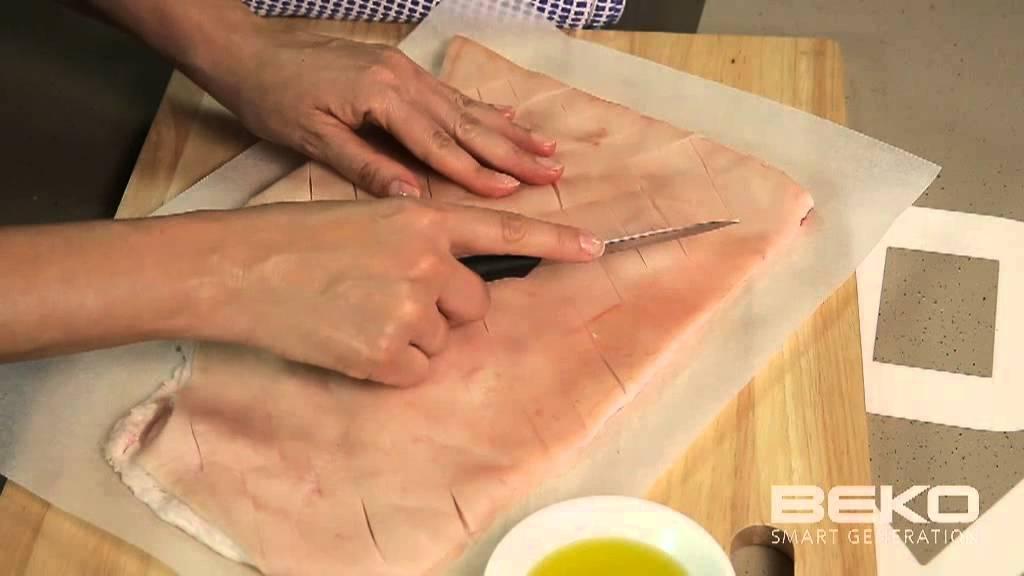 Pork Crackling using the Beko InnovaChef Oven - YouTube