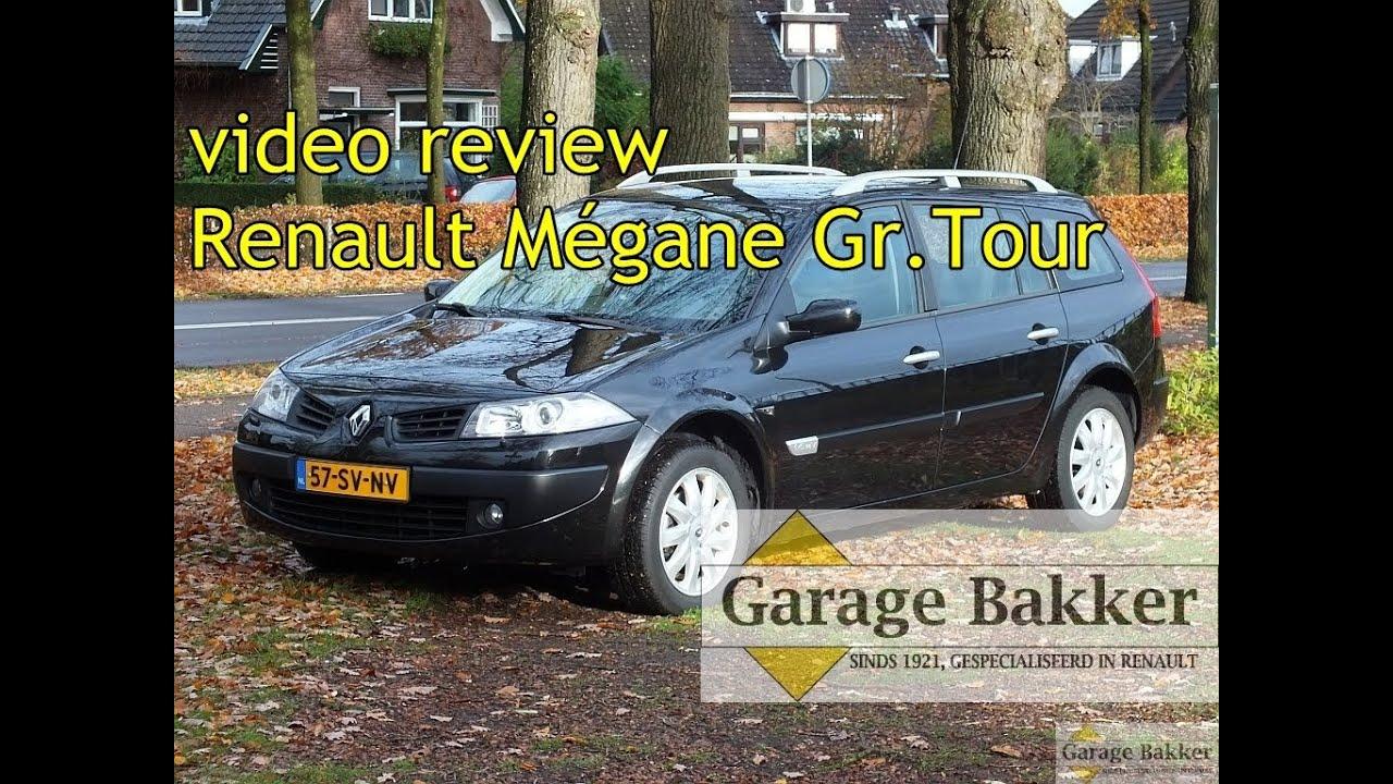 video review renault m gane grand tour 1 6 16v tech line 2006 57 sv nv youtube. Black Bedroom Furniture Sets. Home Design Ideas