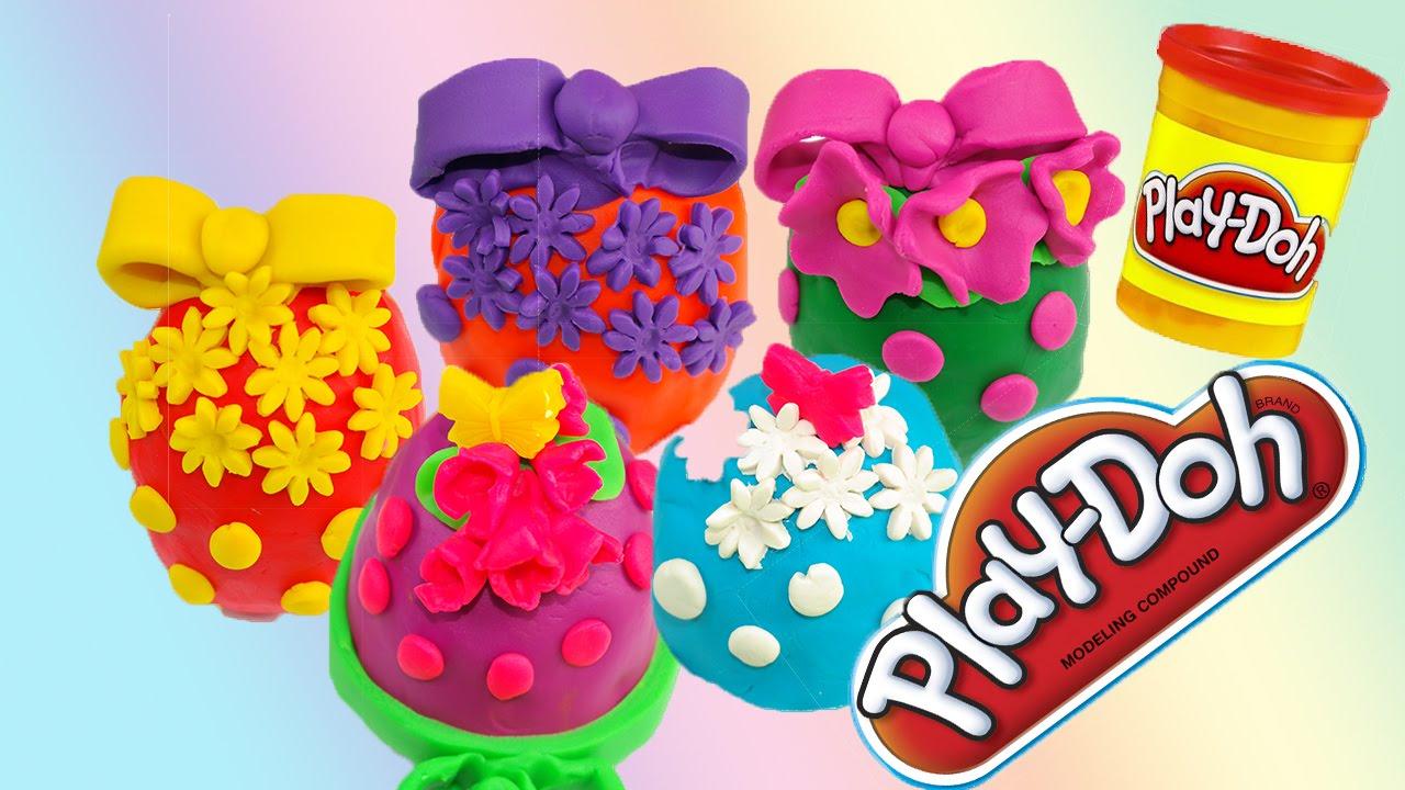 spesso Peppa pig italiano come fare ovetti con sorpresa di Pongo Play doh  UO42