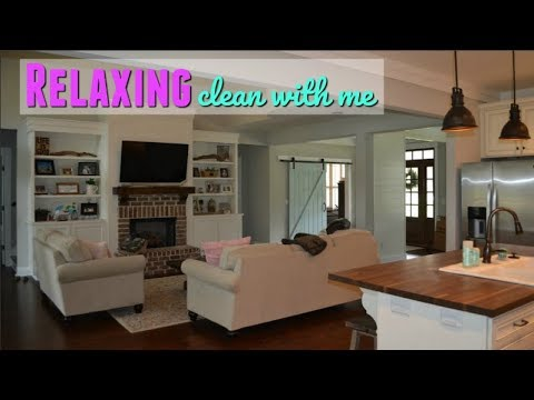 CLEAN WITH ME 2018 // RELAXING CLEANING VIDEO // WHOLE HOUSE CLEANING