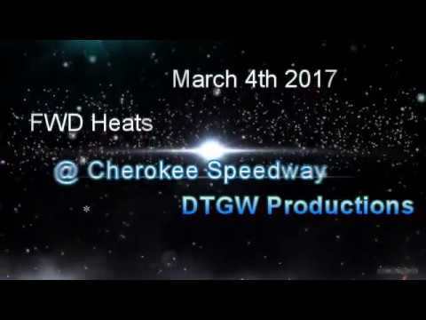 FWD Heats @ Cherokee Speedway March 4th 2017