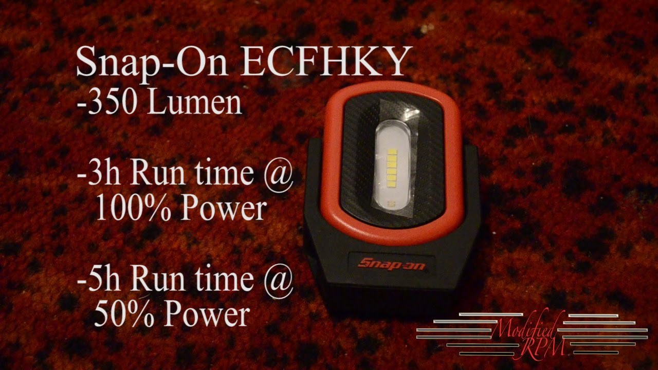 Snap On Ecfhky Pivot Led Light