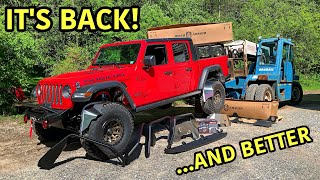 Rebuilding A 2020 Jeep Gladiator Rubicon Part 16