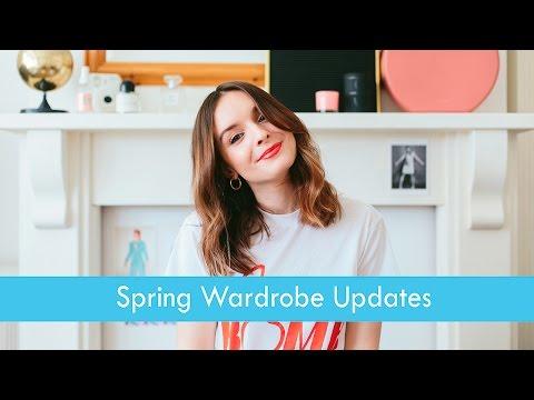 SPRING WARDROBE UPDATES | What Olivia Did
