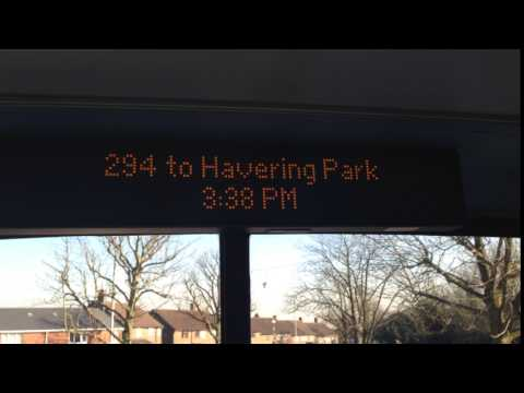 294 To Havering Park