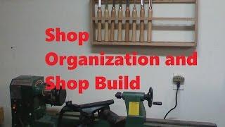 Shop Organization, Lathe Rack Storage