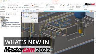 Mastercam 2022: Neue Funktion